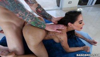 18yr teen latina mya melonz first scene ever