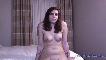 Russian Teen Katarina getting stuffed in all fuckholes