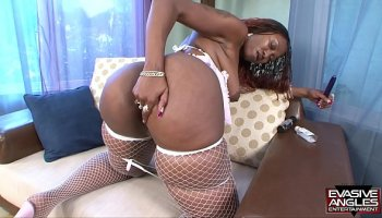 Small tits 18 year old blonde Skylar Valentine riding very big hard shlong