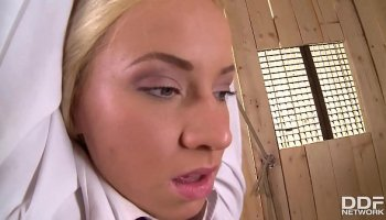 BDSM fetish hardcore with a frightened nurse and her supervisors