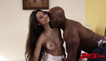 Cop fuck young slutty student Brooklyn Chase in sexy ass