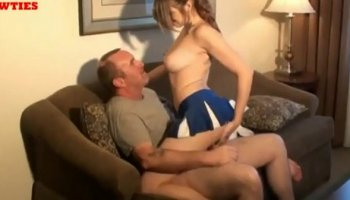 Dad fucks his daughter after college