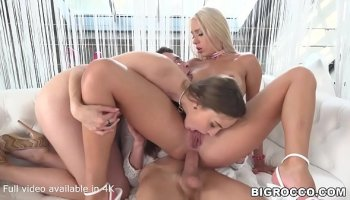 Swinger party with European Wench