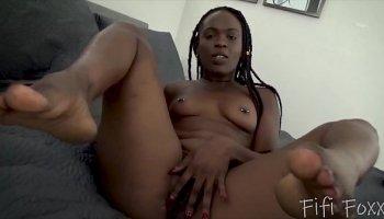 Pretty girl seduced on massage
