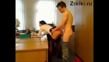 Brigadier fucks his girl assistant at a construction site