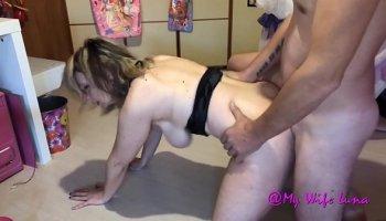 Horny sexy nurse treats a patient
